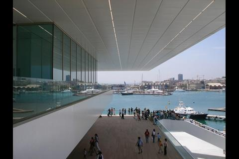 David Chipperfield's America's Cup building